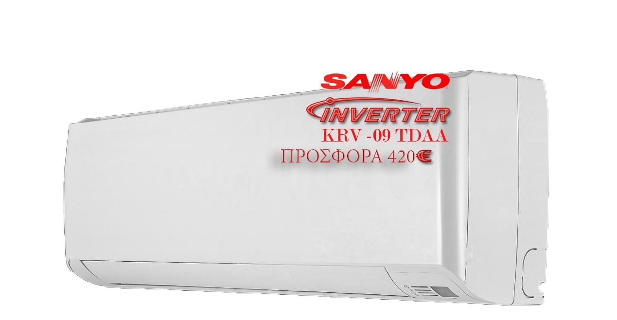 Sanyo inverter KRV-09TDAA